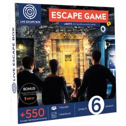 Escape Box Liberté : en famille ou entre amis